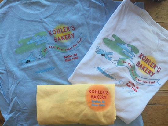 Kohler's Bakery Adult T-Shirts