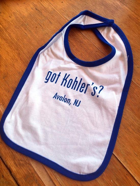 Kohler's Bakery Bibs