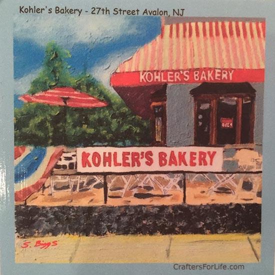 Kohler's Bakery - Tiles