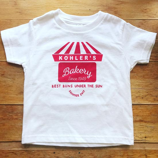 Kohler's Bakery Toddler T-Shirt