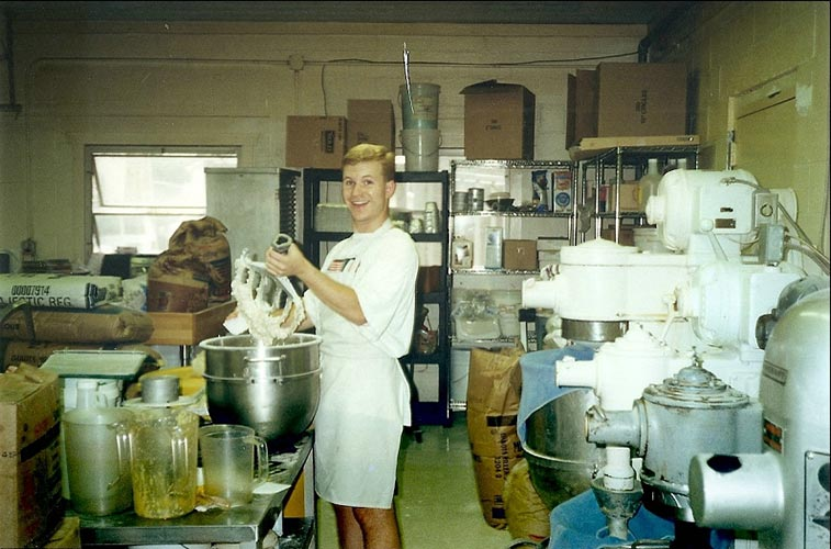 chris-mixing - Kohler\'s Bakery, Avalon, NJ