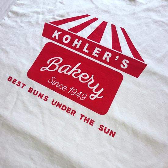 Kohler's Bakery Adult T-Shirts