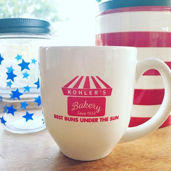 Kohler's Bakery Coffee Mug/Cup