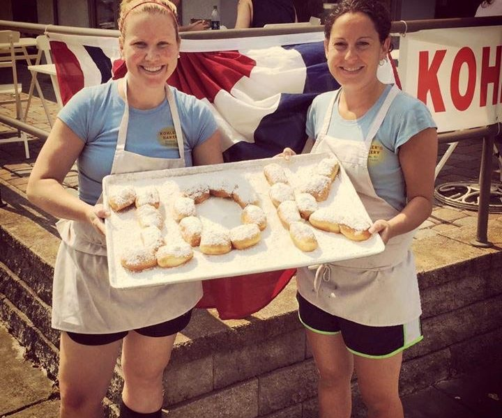 Colleen and Katie - 10,000 Donuts (2015)