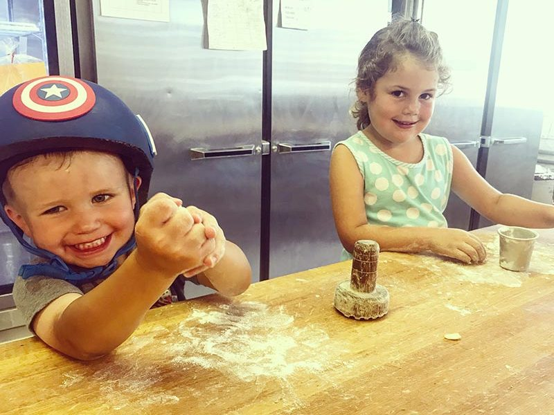Kohler's Kids Play with Dough