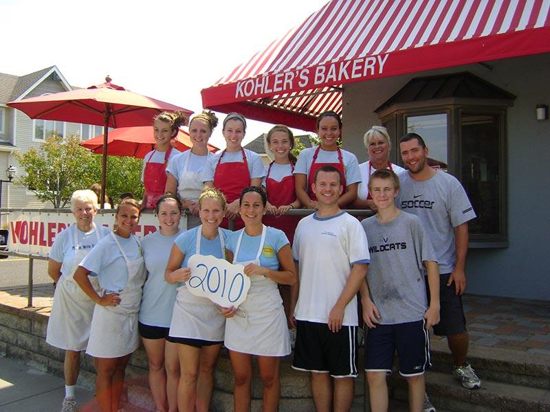 Kohler's Bakery Staff 2010