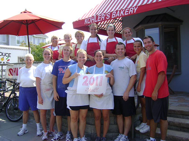 Kohler's Bakery Staff 2011