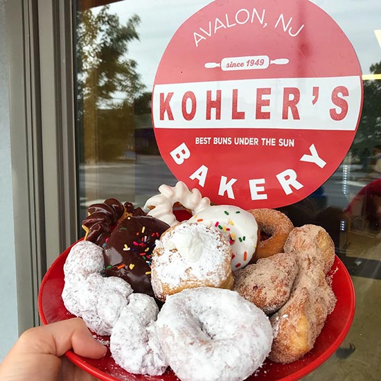 Kohler's Bakery Donuts, Avalon, NJ